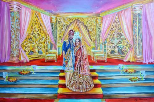 Anjali's painting